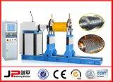 Turbinenrotor-horizontale dynamische balancierende Maschine