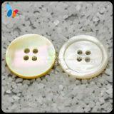 Weiße natürliche 4 Loch-Perlmuttshell-Taste