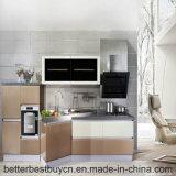 Lacca conveniente di pulitura che cucina l'armadio da cucina