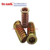 Linha externa da inserção rosqueada do fornecedor de China no fabricante de madeira