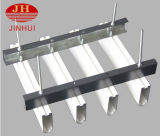 2016 Aluminiumdekoration-hölzerne Korn-Quadrat-Decken