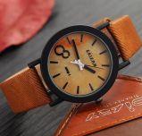 Relógio de pulso ocasional masculino de madeira do relógio de madeira ocasional de madeira novo da cinta de couro da cor dos relógios dos homens de quartzo da simulação do projeto Yxl-858