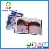 Impresión Softcover brillante de encargo barata del libro de Laminationed