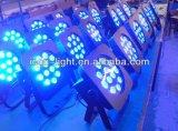 Atacado Cheap RGBA / W 12X5w LED PAR pode para iluminação de palco