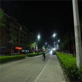lâmpada de rua solar ao ar livre do diodo emissor de luz 80W-120W com 10 medidores Pólo