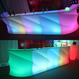 Venta al por mayor de muebles de plástico LED Bar Counter