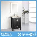 金属のフィート(BV175W)との熱い販売の標準的な純木の現代浴室の虚栄心