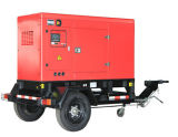 1500kVA 트레일러 유형 전기 엔진 디젤 엔진 발전기 세트에 25
