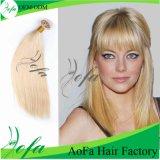 Blondes Stright brasilianisches Haar-Jungfrau-Menschenhaar Ich-Spitzen