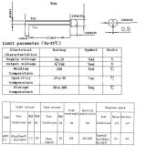 Cds-Fühler zur photoelektrischen Steuerung