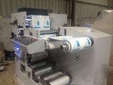 Zwei Farben-Aufkleber Flexo Drucken und stempelschneidene Maschine