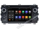 Carro DVD GPS do Android 5.1 de Witson para Toyota Auris 2013 com sustentação do Internet DVR da ROM WiFi 3G do chipset 1080P 16g (A5534)