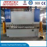 Máquina de dobra da placa Wc67y-160X4000 de aço, freio da imprensa hidráulica