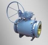 Válvula de esfera do eixo da flange de ASME B 16.5