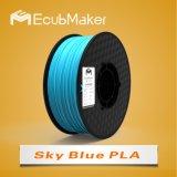 3D 인쇄 기계 하늘색 색깔을%s 1.75mm PLA 필라멘트