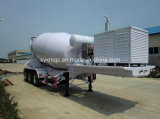 3車軸Concrete Mixer Semi Trailer Truck 08-5