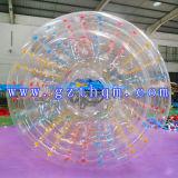 商業用等級のセリウムの膨脹可能な水歩くローラー球/Zorbの膨脹可能な球