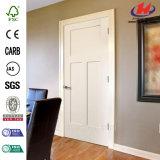Белая низкая цена праймера Pre-Повиснула деревянную дверь