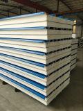 Голубая панель сандвича EPS стали для крыши для Prefab дома