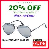 Солнечные очки металла наградной конструкции пилота качества классические для Unisex (FCSMAD1441)