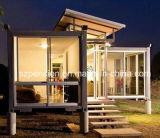 Casa móvil/chalet prefabricados de la alta calidad de Comerical/prefabricados del envase de la casa para la venta caliente