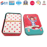 Piattaforma Poker Package Tin Box di Shaped Un di rettangolo per Children Jy-Wd-2015120701