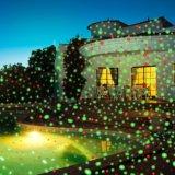 Im Freien bewegliche LED hervorstehende Landschaftsdekoration-Garten-Weihnachtslaserlichte