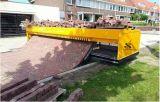 ブロックの舗装機械を使用して道