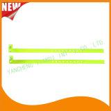 Pulsera plástica del Wristband de la identificación del hospital con la cola (8060-6)