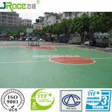 De gebruikersvriendelijke Oppervlakten van de Sporten van het Polyurethaan van het Ontwerp met Certificaat Itf