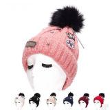 نمط نساء قبعة مع زهرة أغطية