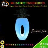 Het Meubilair die van de tuin RGB LEIDENE Planter van de Bloem aansteken