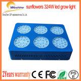 o diodo emissor de luz de venda quente da tira 324W cresce claro para plantas da barraca
