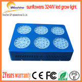 324W la tira vendedora caliente LED crece ligera para las plantas de la tienda