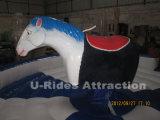 Механически езда родео лошади для случаев
