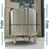 Tanque de mistura do óleo lubrificante de aquecimento de vapor do aço inoxidável