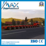 10 Zeilen Semi Trailer 200t Super Load Semi Trailer Multi Axle Hydraulic Low Bed Semi Trailer