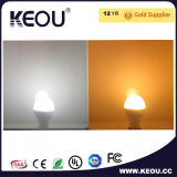 熱い販売の高い内腔LEDの円形の球根3W 5W 7W 10W 12W 15W B22 E27 LEDの地球の球根の省エネライト