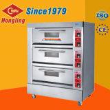 Panadería horno de pan cubierta de tres capas seis sartenes Precio Horno eléctrico