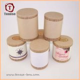 Boîte de papier de Brown emballage de papier de tube rond respectueux de l'environnement de carton