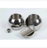 2PC robinet à tournant sphérique élevé des plates-formes solides solubles