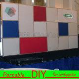 Изготовленный на заказ портативная модульная система индикации Backwall выставки торговой выставки