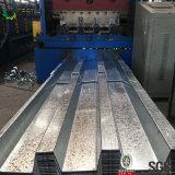 Feuille en acier ondulée de Decking de tôle d'acier de Decking en acier