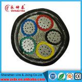 Umsponnener elektrischer Draht, kupfernes Kabel, Energien-Kabel, twisted- pairkabel (BYW-8001)