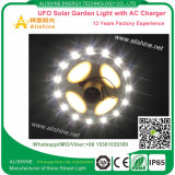 Automóvel do projeto do UFO que deteta a luz solar do jardim da rua do diodo emissor de luz da lâmpada IP65 15W de Dimmable
