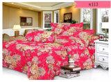 多卸し売り工場か綿材料キルトにするファブリック現代ベッドカバーの枕箱の寝具の一定のベッド・カバーシート