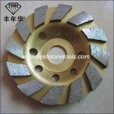 Диск чашки диаманта Cw-7 меля для конкретного камня