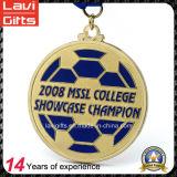 工場熱い販売のカスタムサッカーのスポーツの金属メダル