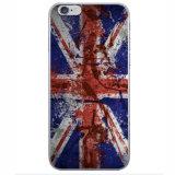 Caso BRITÂNICO do projeto TPU da bandeira das caixas do telefone para o iPhone 7