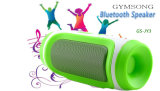 Gymsong Bluetooth 3.0 com o rádio do cartão do Mic /TF/USB /FM/altofalantes auxiliares